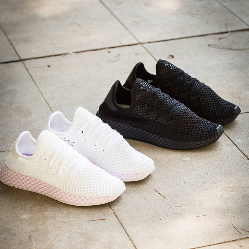 adidas Originals Deerupt White & Black