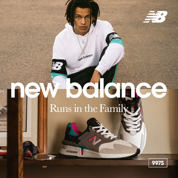 runs in the family new balance chico