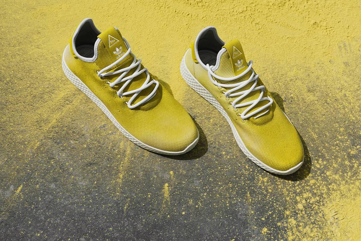 Pharrell Williams adidas Debut Hu Holi adicolor Collection