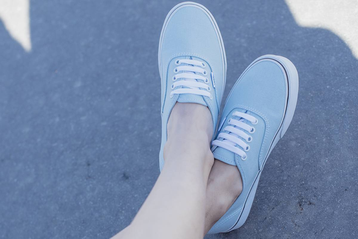 Vans Authentic Blue Baby sportown lookbook