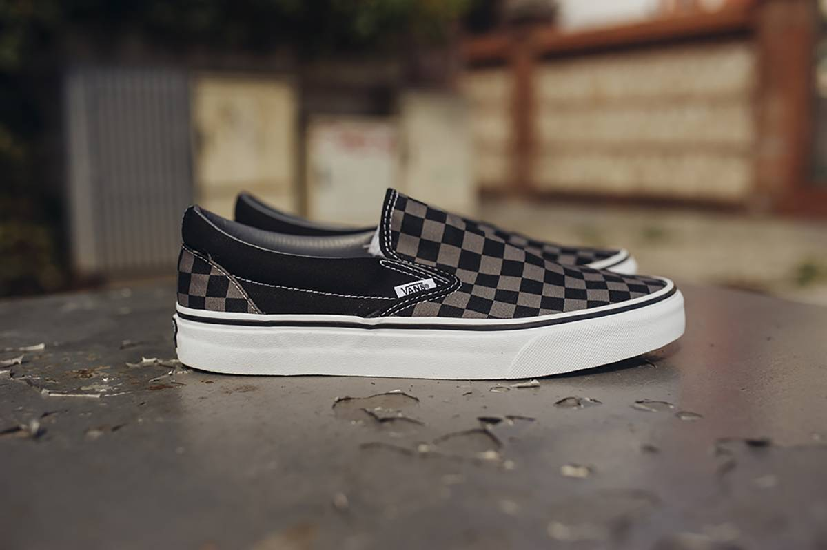 Vans Slip On Checker sportown lookbook